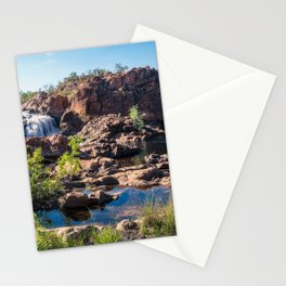 Australian Landscape at Edith Falls, Top End, Australia Stationery Cards