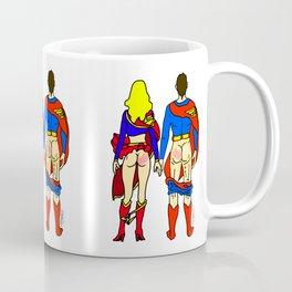 Superhero Butts Love 1 - Super Birds Coffee Mug