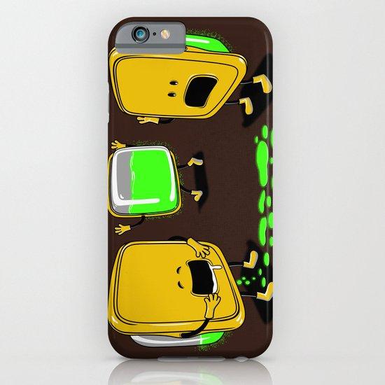 Radioactive Tupper iPhone & iPod Case