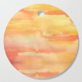 Apricot Sunset Cutting Board