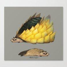 Golden Platypowl Canvas Print