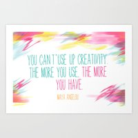 The more you have Art Print