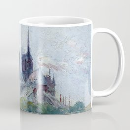 "Gustave Madelain ""The Seine and Notre Dame"" Coffee Mug"