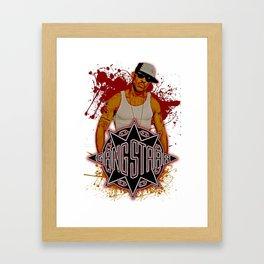 GangStarr Framed Art Print