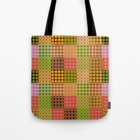 quilt Tote Bags featuring quilt by Isabella Asratyan