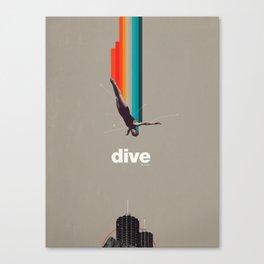 Dive Into My Soul Canvas Print