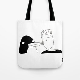 penguin pal Tote Bag