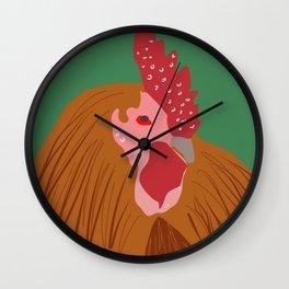 Cockerel Wall Clock