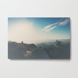 morning light on Mount Woodson, California Metal Print