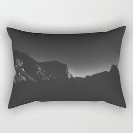 Yosemite nighttime Rectangular Pillow