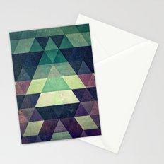 dysty_symmytry Stationery Cards