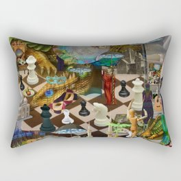 The Young Lady's Dream Rectangular Pillow