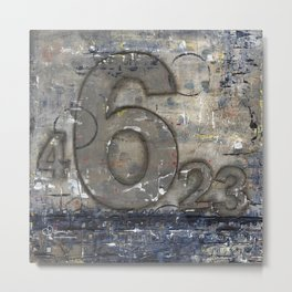 Journey by Number: 6 Metal Print