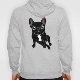 Cute brindle Frenchie is your best friend Hoody