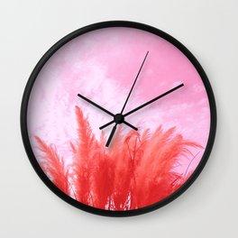 red Texas cortador Wall Clock