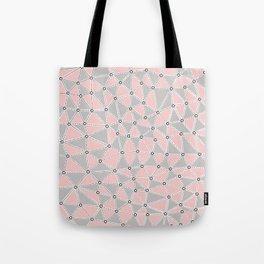 Seg African Grey and Pink Tote Bag