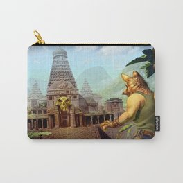 Monkey temple Carry-All Pouch
