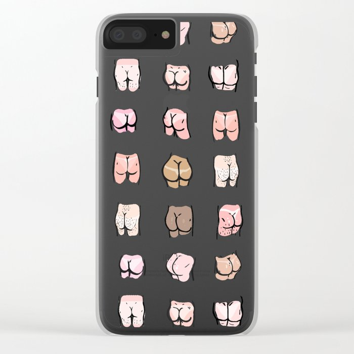 summer butts Clear iPhone Case
