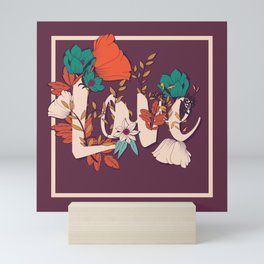 Type Love 001 Mini Art Print