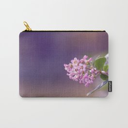 Pink Summer Flower Carry-All Pouch
