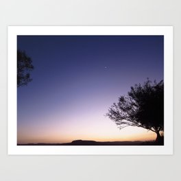 Mitzpe Ramon Sunset Art Print
