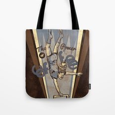The Power of Coffee Tote Bag