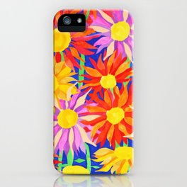 Flowers World iPhone Case