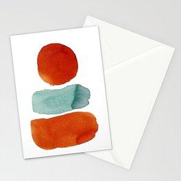 Orange on Top Stationery Cards