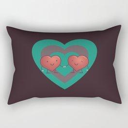 Heart 2 Heart Rectangular Pillow
