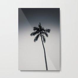 palm tree ver.black Metal Print