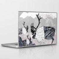 nordic Laptop & iPad Skins featuring Nordic Reindeer by Pencil Studio