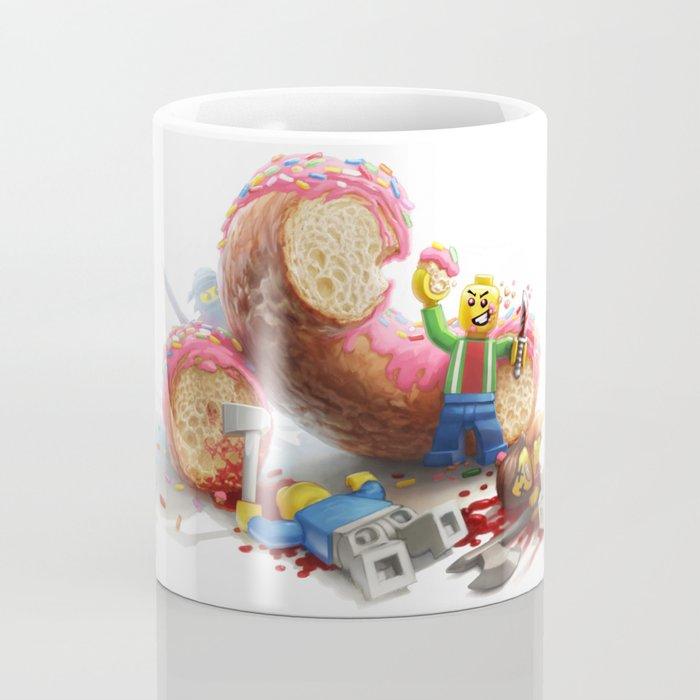 The Doughnut Murders Coffee Mug