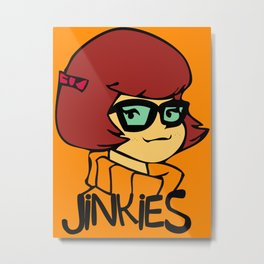 Velma Dinkley Metal Print