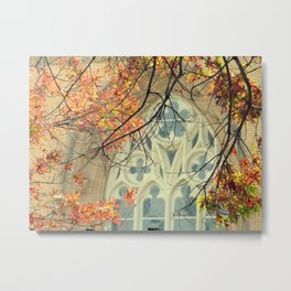 Autumn Cathedral Metal Print