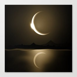 Divine Reflections Canvas Print