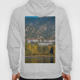 Beginning of Autumn Stanley Hotel Estes Park Rocky Mountains Colorado Hoody