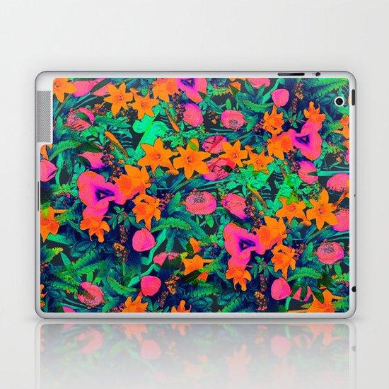 CRAZY FLOWERS Laptop & iPad Skin