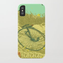 LAZY DAY RIDE iPhone Case