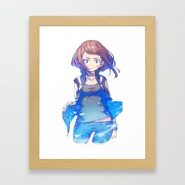 Uraraka Framed Art Print