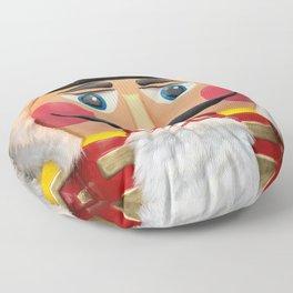 Nutcracker Christmas Design - Illustration Floor Pillow
