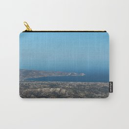 View On Heracleon And The Sea On Crete in Greece Carry-All Pouch