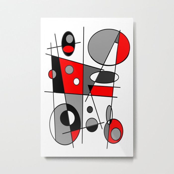 Abstract #35 Metal Print