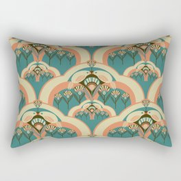 A Deco Garden Rectangular Pillow