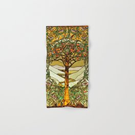 Louis Comfort Tiffany - Decorative stained glass 6. Hand & Bath Towel