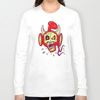 evil dead Long Sleeve T-shirts featuring Evil Dead Po by Artistic Dyslexia