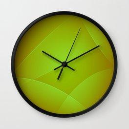 Olive, Lima & Limeade Colors Wall Clock