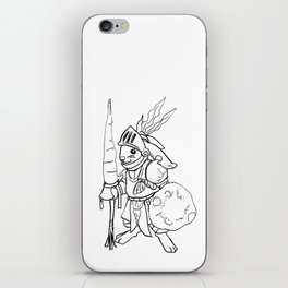 Rabby the Knight iPhone Skin