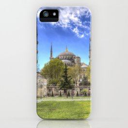 The Blue Mosque Istanbul iPhone Case