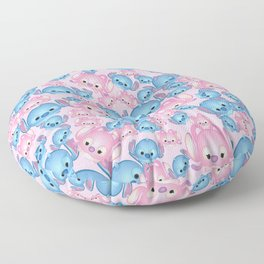 Lilo and Angel - PinkVersion Floor Pillow