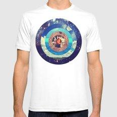 Sphere Of Dreams Mens Fitted Tee MEDIUM White